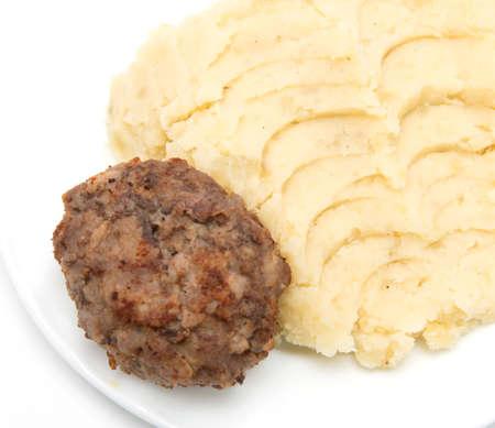 pure de papa: Chuletas y pur� de patatas