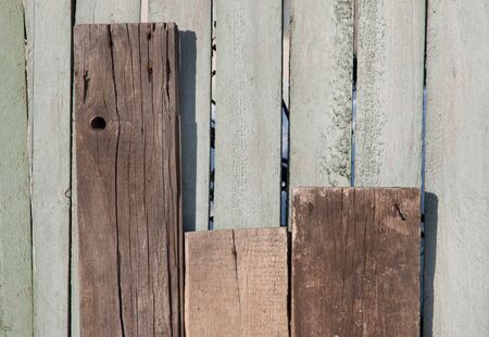 exfoliate: old wooden fence