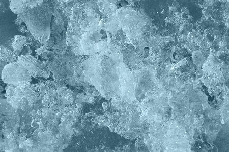 crazing: ice