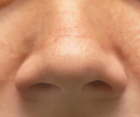 neus: nose close-up