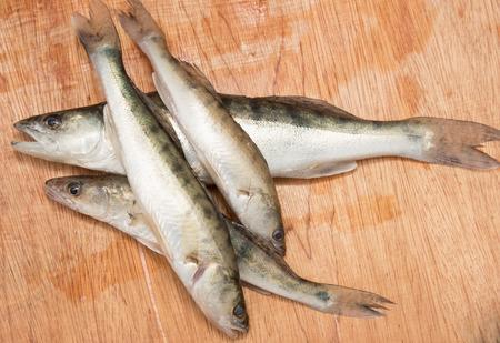 chub: chub fish on a wooden background