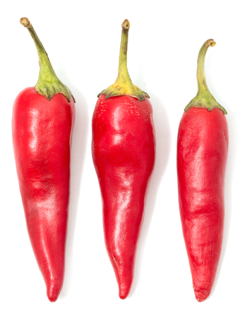 chiles picantes: Red hot peppers