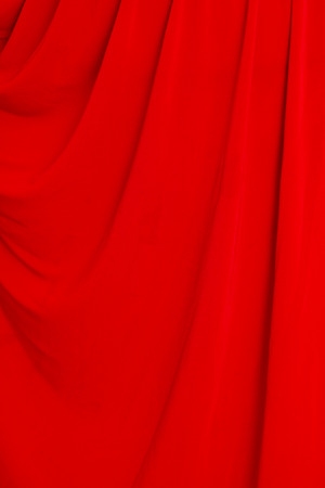 folds of red material as background Stok Fotoğraf