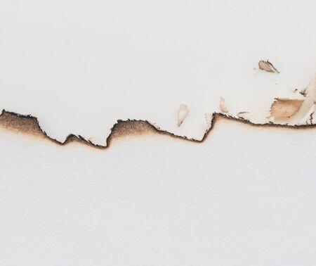 verbrand papier