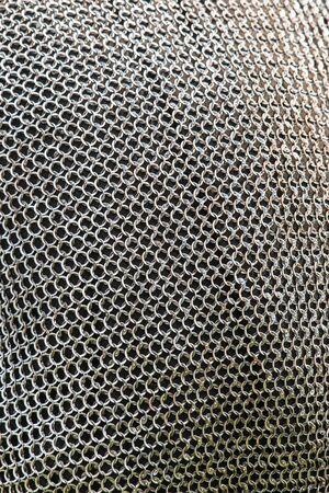 woven material from metal kk background Stock fotó