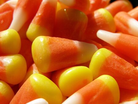 Detail of candy corn.