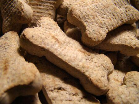 개가 쿠키 쌓여 높은 세부. 스톡 콘텐츠
