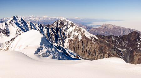 elbrus: Mt. Kazbegi , View over the clouds.