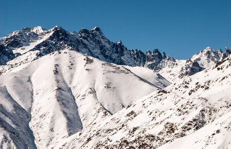 kackar: Snowy valley mountains.