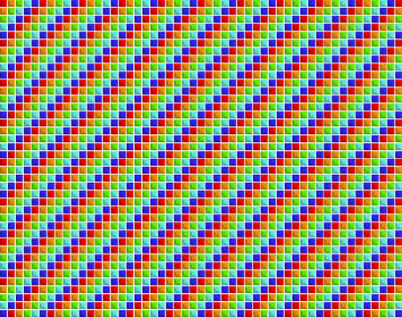 Colourful small squares background