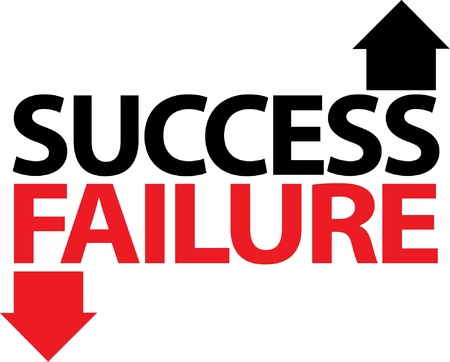 Success Failure Stock Vector - 17002136