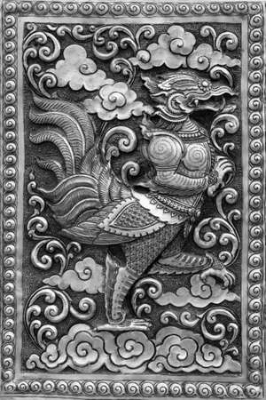 Silver handicraft animal in Ramayana, Chiangmai, Thailand Stock Photo - 12512882