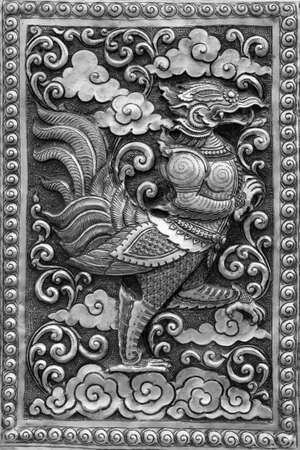 Silver handicraft animal in Ramayana, Chiangmai, Thailand Stock Photo - 12512882