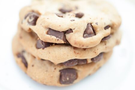 Soft Baked Cookie with Dark Chocolate Chip photo