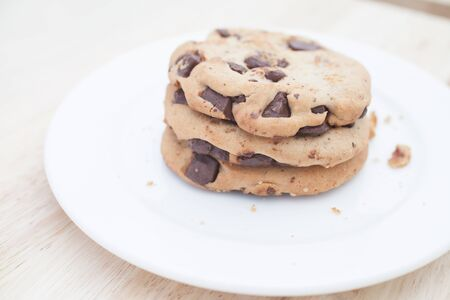 Soft Baked Cookie with Dark Chocolate Chip