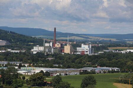industrie: Blick auf die Stadt Hameln