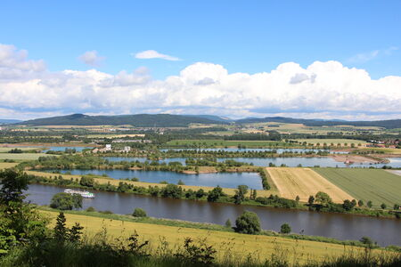 Weser Uplands in Germany