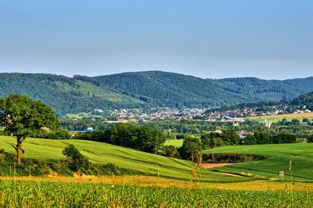 Summer in the Weser mountain country