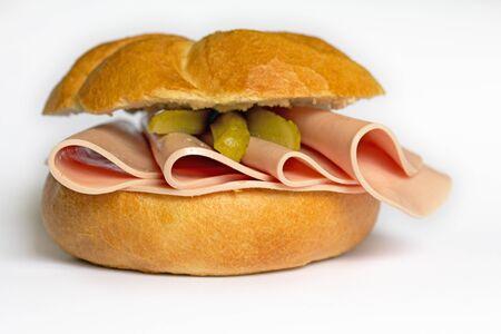 Bologna Roll  Wurstsemmel