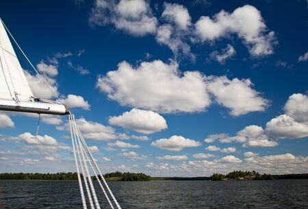 A beautiful day for sailing in Scandinacia