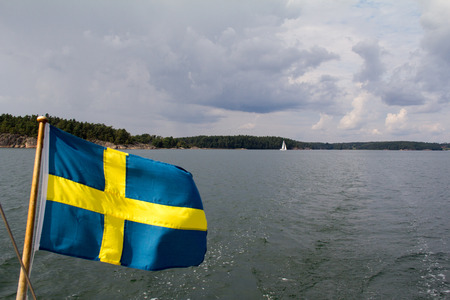 Crossing the baltic sea in dark weather