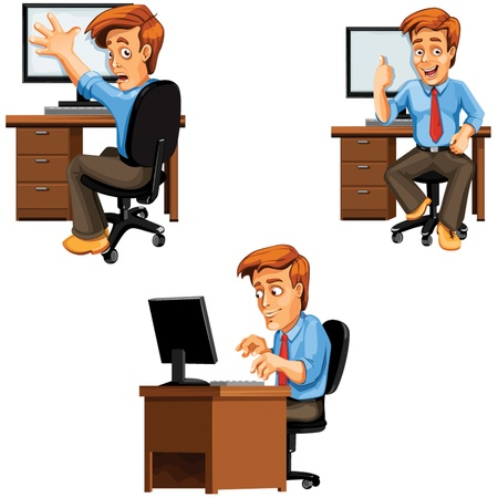 dude: Dude at the computer