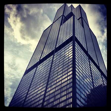 willis: Willis Tower in Chicago in 2013