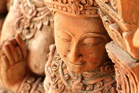 bas relief: Thai bas sculptures art de soulagement pour d�corer