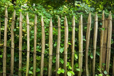 Fence made of wooden bars Stock Photo - 4219004