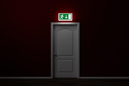 salida de emergencia: Salida de emergencia