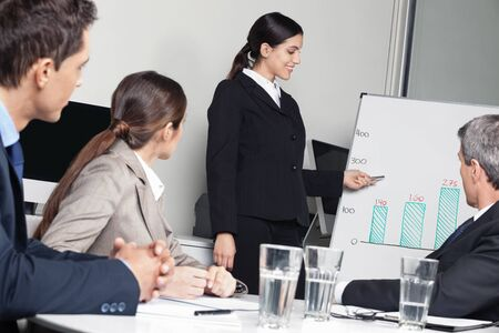 Business team having strategy meeting in the office Stock Photo - 16166249