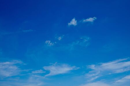 infinitely: Wide blue sky with many little clouds
