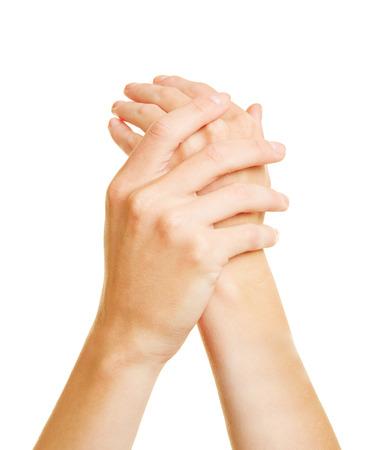 Lubing des mains pour les soins de la peau avec une lotion hydratante Banque d'images