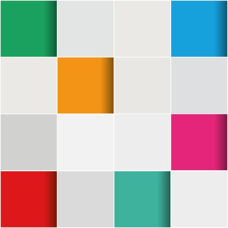 tiling: 3D abstract background with tiling pattern design in many colors
