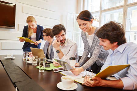 Teamwork in business meeting planning an analysis
