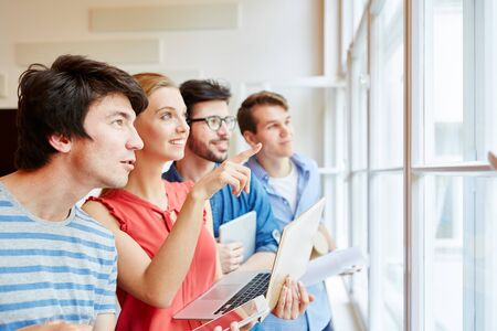 Young start-up team having a business vision workshop