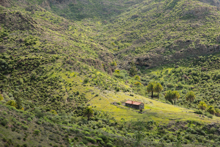 Small lonely and secluded house in the nature in Spain