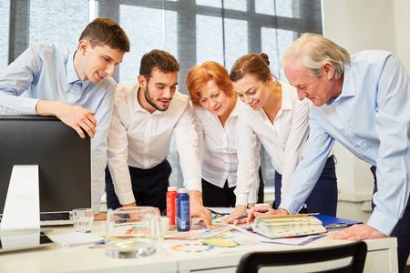 Creative designer team planning and brainstorming new ideas
