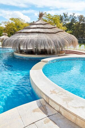 Various swimming pools and a Thai Pavilion in the Wellness Luxury Hotel