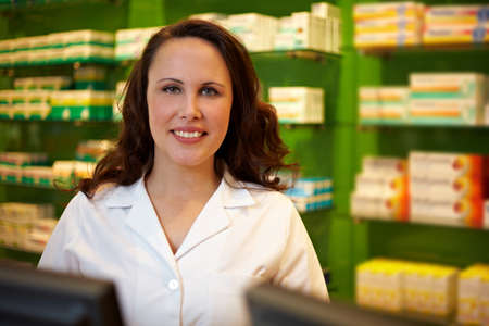 Pharmaceutical-technical assistant in a pharmacy