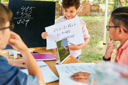 Children add up in tuition in the summer school vacation course