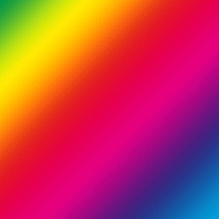 Abstract colorful rainbow as a square background pattern