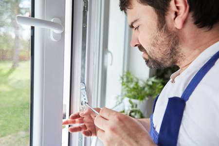 A competent window manufacturer carefully adjusts a window after it has been installed in the apartment