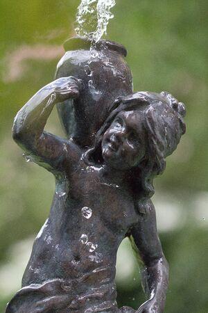 Fountain statue Stock Photo - 9904158