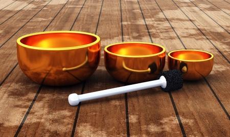 Tibet - ZEN Singing Bowl   photo