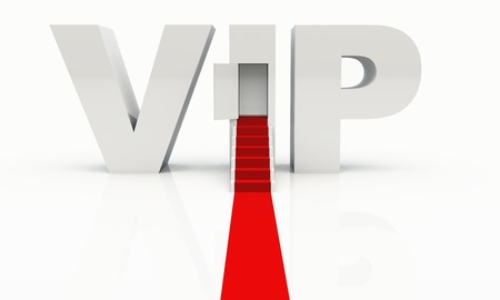 VIP are welcome Stock Photo - 8476203