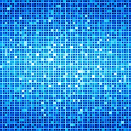 Blue Ocean Disco Matrix Background Reklamní fotografie