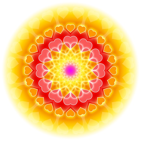 tantra: abstract symbol for love