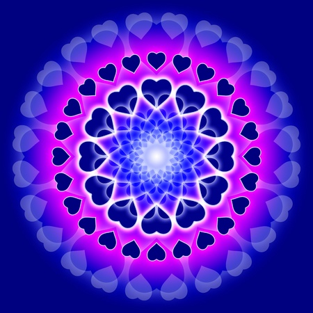 oneness: abstract symbol for love
