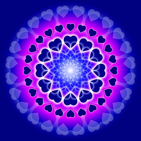 dinamismo: simbolo astratto per amore